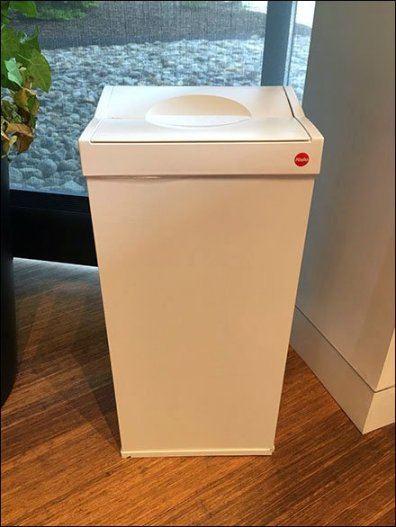 Sub-Zero Showroom Waste Receptacle