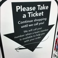 Take-a-Ticket Queue Management