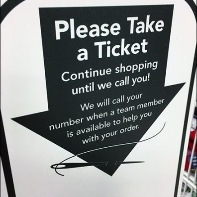 Take-a-Ticket Queue Management