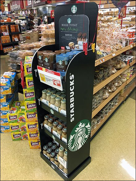 Weis Starbucks Coffee Cross Sell To Bakery 3