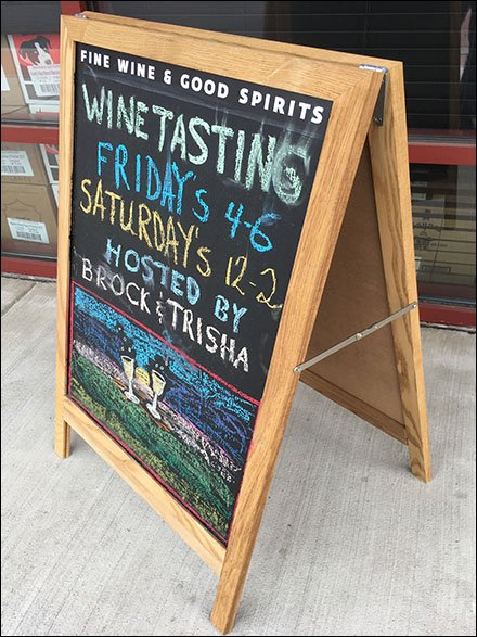 Your Wine Tasting Invitation By Entry Easel