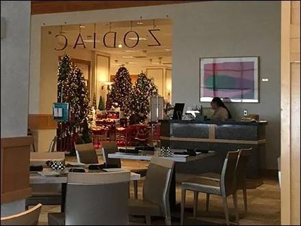 Zodiac Cafe Christmas at Neiman Marcus