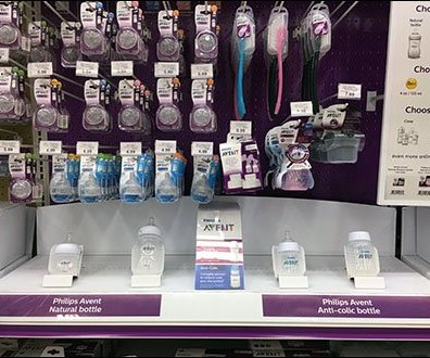 Baby Bottle Browsing Event by Avent