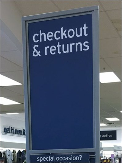 Checkout And Return Queue Combo