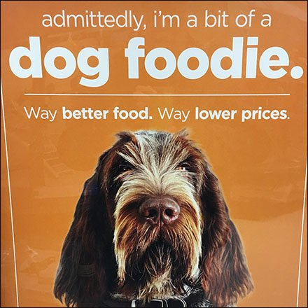 Foodie Advertising In-Store For Pets Feature