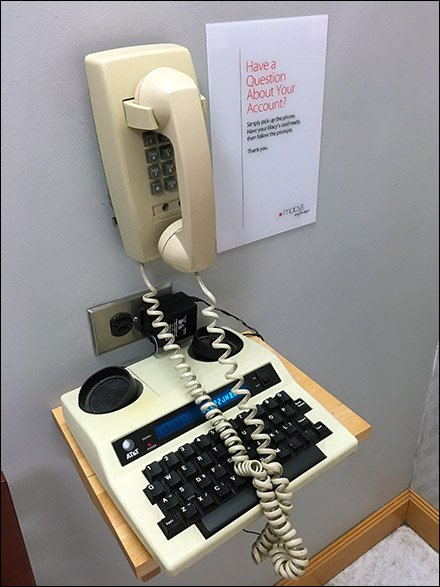 Casual Account Services Handicapped Telephony