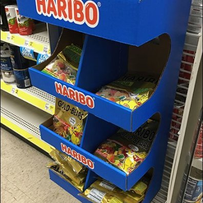 Haribo Half-Height PowerWing Promotion