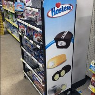 Hostess Brands Freestanding Rack
