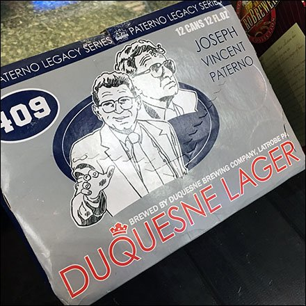 Joe Paterno Legacy Series Duquesne Lager Feature