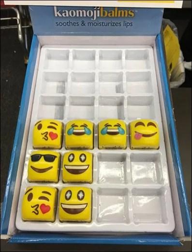 Emoji Lip Balm Counter-Top Merchandising