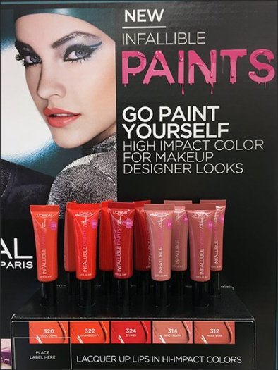 Infallible Color-Coded Lip Gloss By L'Oreal