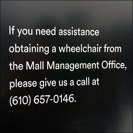 Lehigh Valley Mall Here To Help Handicapped Aux