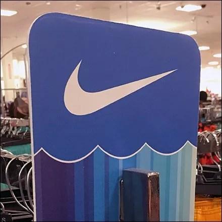 Nike Door Knob Hanger Branding