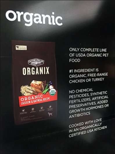 Organic Dog Food Category Definition