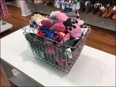 Wire Basket Shopping Carry Bulk Bin
