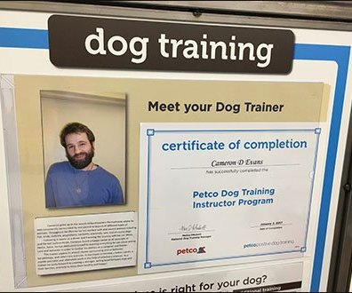 Personalized Dog Training In-Store At Petco