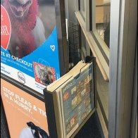 Entry Sign Literature Holder Rides Sidesaddle