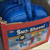 Snow Shovel Shipper Self-Display For Kids