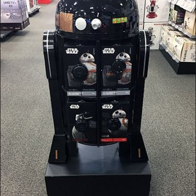 Star Wars R2-Q5 Droid Floor Display