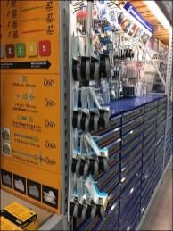 Velcro Brand Fastener Hooked Strip Merchandiser