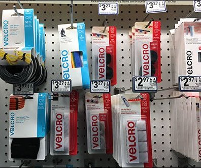 Velcro Center Branding at Lowes