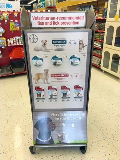 Flea And Tick Pick Card Proposition From Bayer