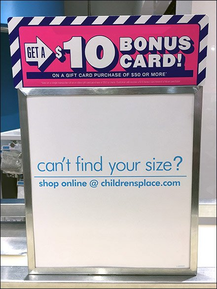 Can't Find Your Size Advice In-Store