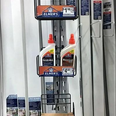 Pallet Rack Upright Cross SellFor Elmers Glue