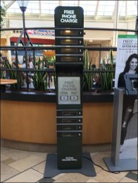 Free Phone Charging Station At The Exton Mall