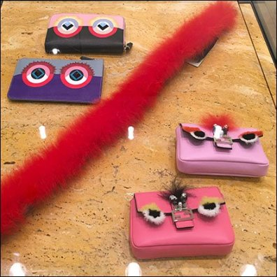 Fendi Monsters Flat Museum Case Displays Feature2