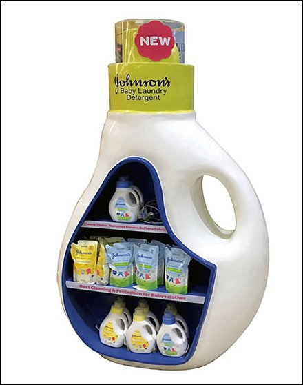 Realistic Baby Laundry Detergent Replica