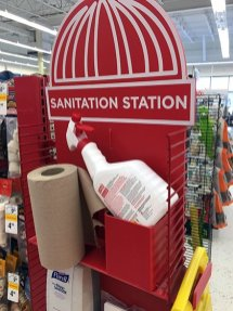 Petco Sanitation Station For In-Store Pet Cleanup