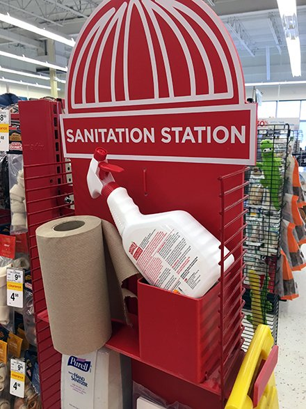 Petco Sanitation Station For In-Store Pet Cleanup – Fixtures Close Up