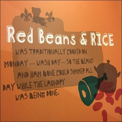 Popeyes Red Beans and Rice Branded Art