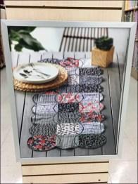 Quilt Shop Promotional Signage Endcap