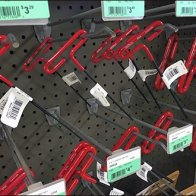 Straight-Entry Hook Hung Hex Key