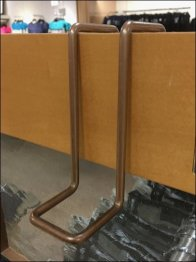 All Wire Pin-Up Loop Hook For Rack End