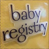 Baby Registry Kiosk Logo Branding Feature