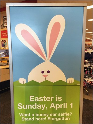 Bunny Selfie For Easter Promotes #TargetFun
