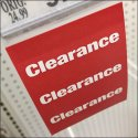 Clearance Bib Tag For Scan Hook