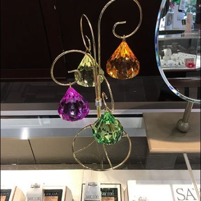 Counter-Top Color Diamond Crystal Heroes