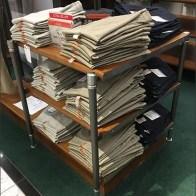 Dockers Branded Shelf Stanchion For Khakis