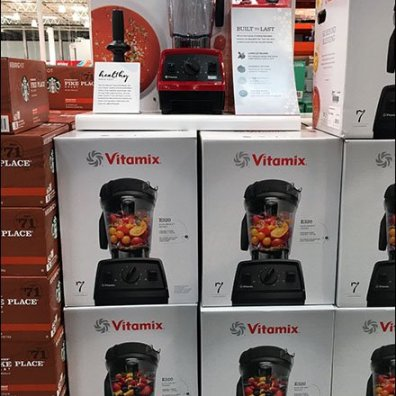 Healthy Made Easy Vitamix Blender Display