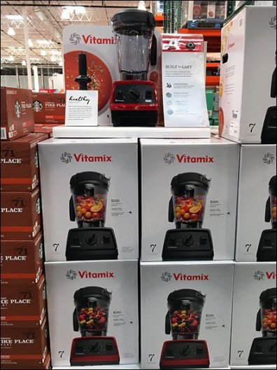 Healthy Made Easy Vitamix Blender Display