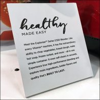Healthy Made Easy Vitamix Blender Pallet Display Feature