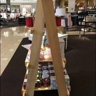 Laddered Display is Hinged Tallboy