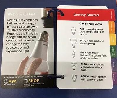 Lighting Catalog Ring BoundAt Shelf Edge