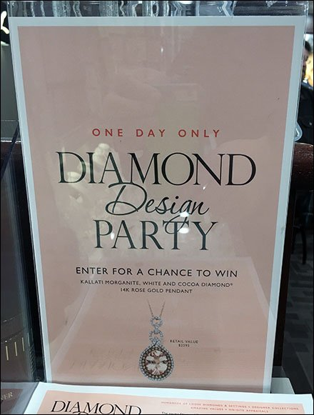 09874d8f9 These useful How To Design A Diamond Instructions were counter-top handouts  at a Littman Jewelers Diamond Party … one-day Sales the retailer hosts on a  ...