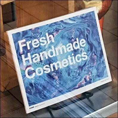 Lush Fresh Handmade Cosmetics Sign