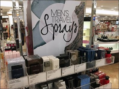 Miniature Travel Size Sprays For Men